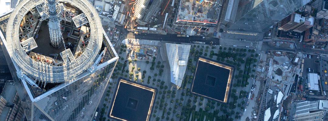 El ascensor del One World Trade Center: 500 años de historia de Manhattan resumida en 47 segundos