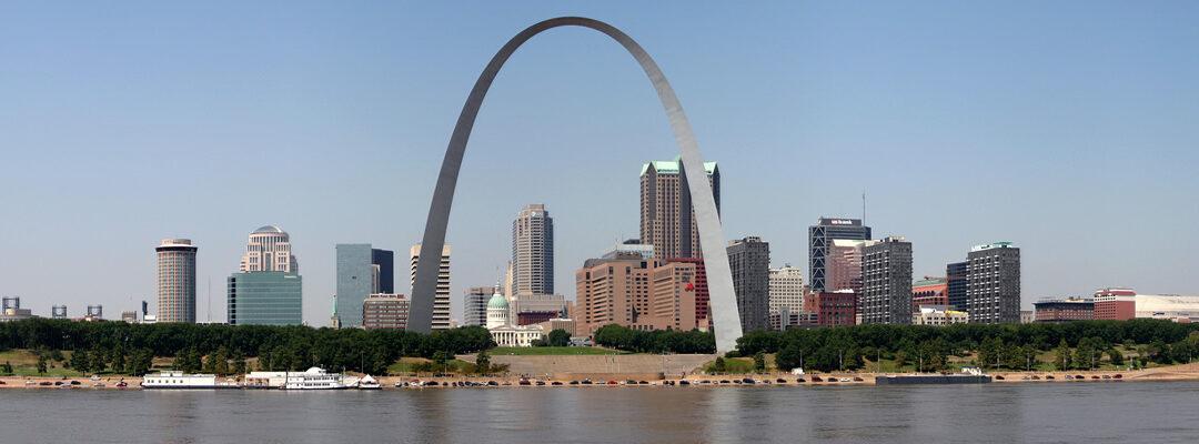 """El original """"ascensor tanvía"""" del Gateaway Arch de St. Louis"""