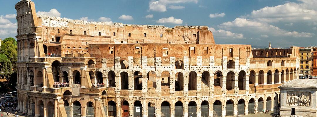El Coliseo Romano: los ascensores que te subían a la arena